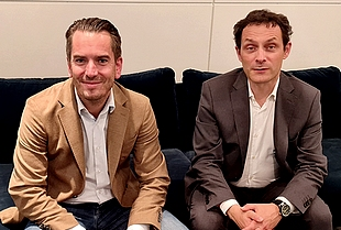 Gianmaria Perancin, président de l'USF, et Frédéric Chauviré, directeur général de SAP France.